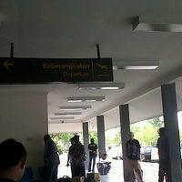 Photo taken at H.A.S. Hanandjoeddin Airport (TJQ) by Jhoni S. on 10/14/2012