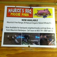 Photo taken at Maurice's BBQ Piggie Park by Kevin L. on 12/1/2012
