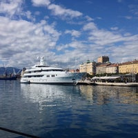 Photo taken at Rijeka Harbour by Just I on 9/20/2013