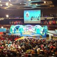 Photo taken at Dewan Merdeka PWTC by Zulkifli N. on 7/4/2013