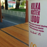 Photo taken at McDonald's by Andrzej C. on 6/12/2013