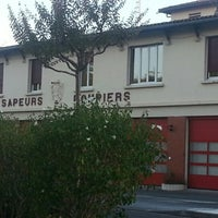 Photo taken at caserne sapeurs pompiers by Nathalie M. on 9/13/2014