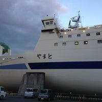 Photo taken at 阪九フェリー 第2ターミナル by Masayoshi O. on 1/3/2013