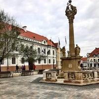 Photo taken at Fő tér by Viktória E. on 3/25/2017