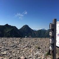 Photo taken at 硫黄岳山頂 by ☻美樹☻ on 8/6/2016