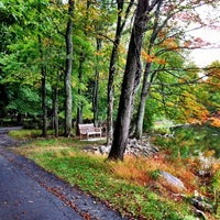 Photo taken at Rockland Lake State Park by Ashley C. on 10/11/2012