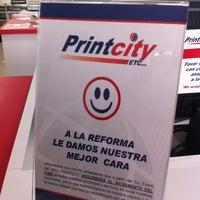 Photo taken at Printcity Etc by Kalo M. on 2/13/2013