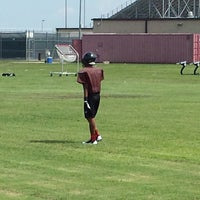 Photo taken at Pearland Oilers Juniors Practice Field by Glenn P. on 9/11/2013