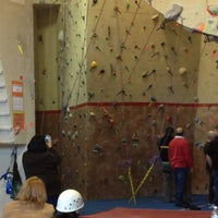 Photo taken at Doylestown Rock Gym & Adventure Center by Kristine B. on 1/19/2013