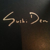 Photo taken at Sushi Den by Riley Kaua K. on 2/17/2013