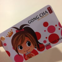 Photo taken at Gong Cha 貢茶 by Annieeee C. on 3/1/2013