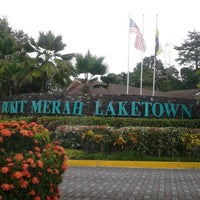 Photo taken at Bukit Merah Laketown Resort by Khazlin L. on 12/9/2012