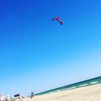 Photo taken at Пляж by Yulia Kisylia on 8/31/2016