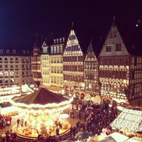 Photo taken at Frankfurter Weihnachtsmarkt by Chris A. on 12/12/2012