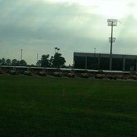 Photo taken at Stallworth Stadium by Robert M. on 4/24/2013