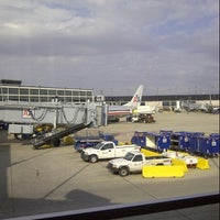 Photo taken at Gate H17 by Wallys M. on 11/1/2012