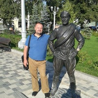 Photo taken at Old Embankment (1st Line) by Виталий Б. on 7/29/2013