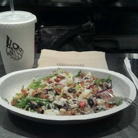 Photo taken at Chipotle Mexican Grill by Tiffany T. on 11/19/2012
