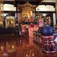 Photo taken at Jodo Mission of Hawaii by Burt L. on 12/13/2015
