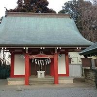 Photo taken at 諏訪神社 by Satoshi T. on 1/16/2016