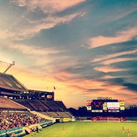 Photo taken at Camping World Stadium by Kylie A. on 6/8/2013