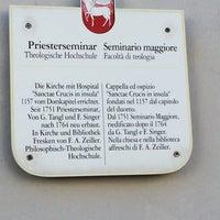 Photo taken at Seminario Maggiore by Matthias C. on 6/30/2014