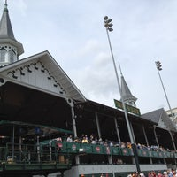 Photo taken at Churchill Downs by Dave  on 5/2/2013