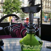 Photo taken at le temple shisha by Khaled M. on 6/22/2014