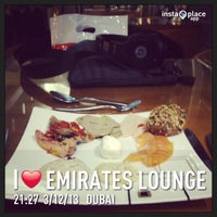 Photo taken at The Emirates Lounge by Khaled M. on 3/12/2013