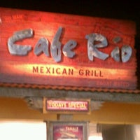 Photo taken at Cafe Rio Mexican Grill by Wicked K. on 9/21/2012