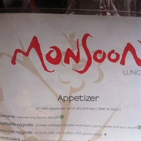 Photo taken at Monsoon Cafe by Lula C. on 6/21/2013
