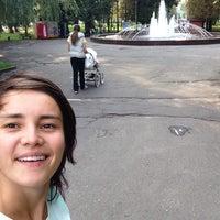Photo taken at Фонтан в парку Шевченка by Valentyna P. on 9/21/2014