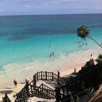 Photo taken at Tulum Archeological Site by Hugh C. on 10/31/2012