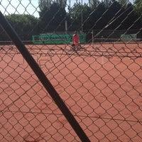 Photo taken at Tennis Club Beaufays by Mathilda H. on 7/8/2013