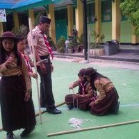 Photo taken at SMP Negeri 1 Kendari by erin e. on 12/4/2014