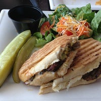 Photo taken at Pressed Panini Bar by Eric D. on 6/30/2013