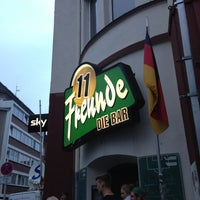 Photo taken at 11 Freunde - Die Bar by Matthias M. on 5/7/2013