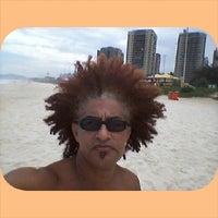 Photo taken at Praia da Barra - kioske do pirata by Irann C. on 6/13/2014