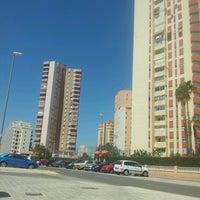 Photo taken at La Pobla de Farnals Beach by Tonet M. on 6/12/2013