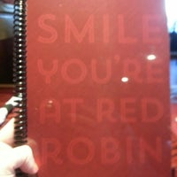 Photo taken at Red Robin Gourmet Burgers by Jen W. on 10/13/2013