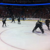 Photo taken at Honda Center by Andres A. on 3/21/2013