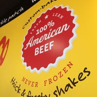 Photo taken at MOOYAH Burgers, Fries & Shakes by Mike W. on 7/26/2014