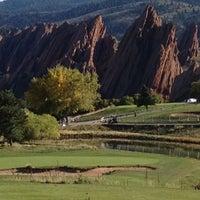 Photo taken at Arrowhead Golf Club by Luke G. on 9/30/2012