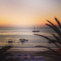 Photo taken at Las Vistas Beach by Yuriy K. on 1/13/2013