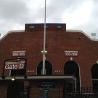 Photo taken at Foreman Field at S.B. Ballard Stadium by Clay R. on 10/30/2012