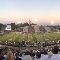 Photo taken at Foreman Field at S.B. Ballard Stadium by Clay R. on 10/7/2013