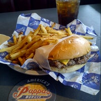 Photo taken at Pappas Burger by Mike Y. on 3/28/2013
