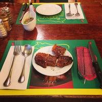 Photo taken at Brasil Steak House (巴犀烧烤餐厅) by Robinsky Z. on 8/31/2013