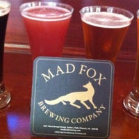 Photo taken at Mad Fox Brewing Company by Steve G. on 7/4/2013