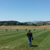 Photo taken at Rancho San Marcos Golf Course by Ariel on 5/11/2014
